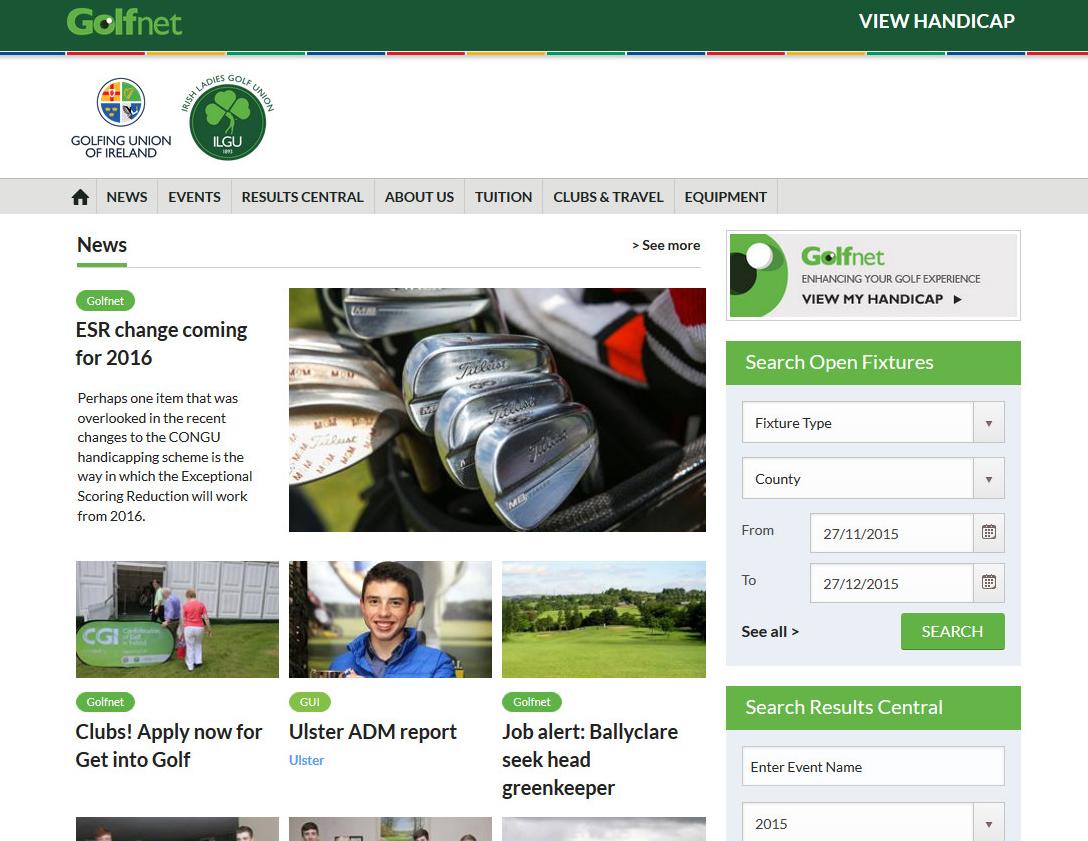 Golfnet online dating