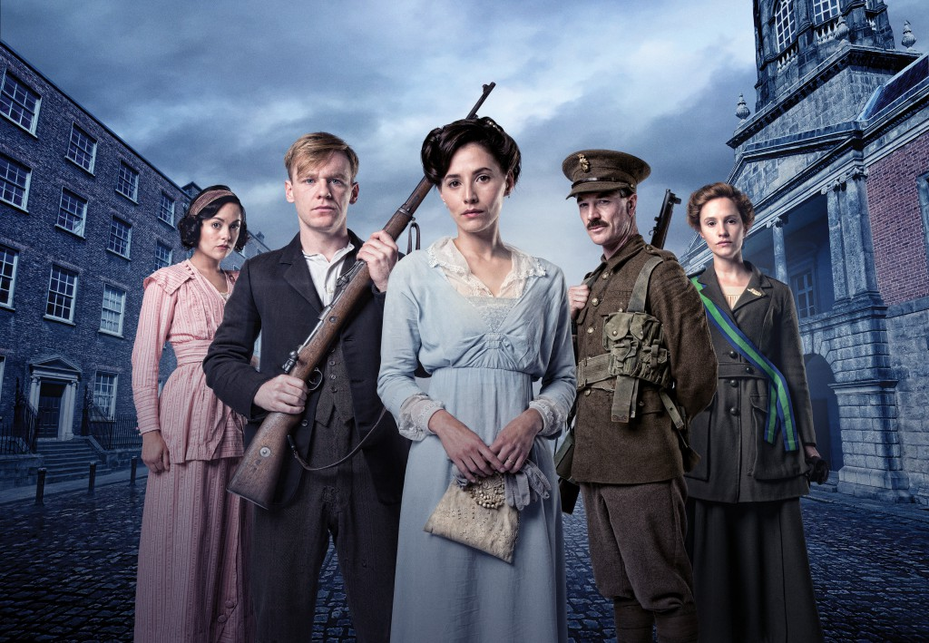 Rebellion RTÉ One Episode 1: Sunday January 3rd 2016 9:30pm Sarah Green as May, Brian Gleeson as Jimmy, Charlie Murphy as Elizabeth, Barry Ward as Arthur, Ruth Bradley as Frances