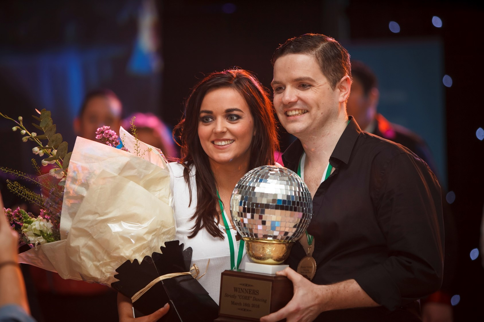 Strictly Core Dancing Winners Melissa Byrne & Colum O'Hara 2