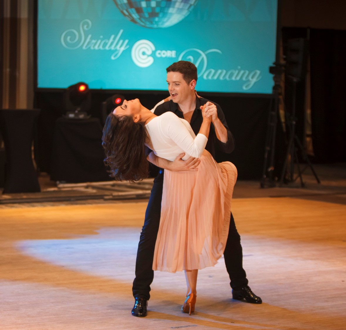 Strictly Core Dancing Winners Melissa Byrne & Colum O'Hara