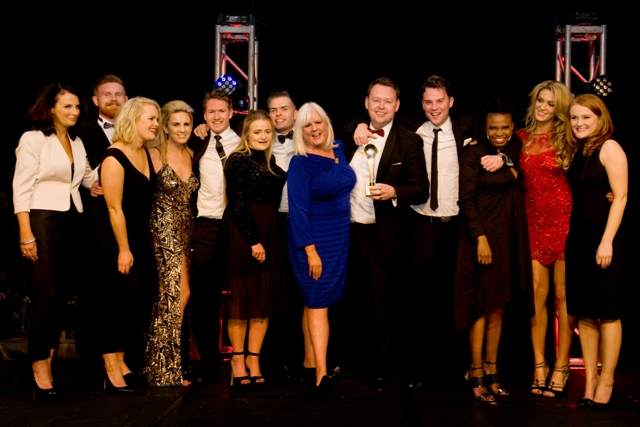 Sales Team of the Year Media Central Winner