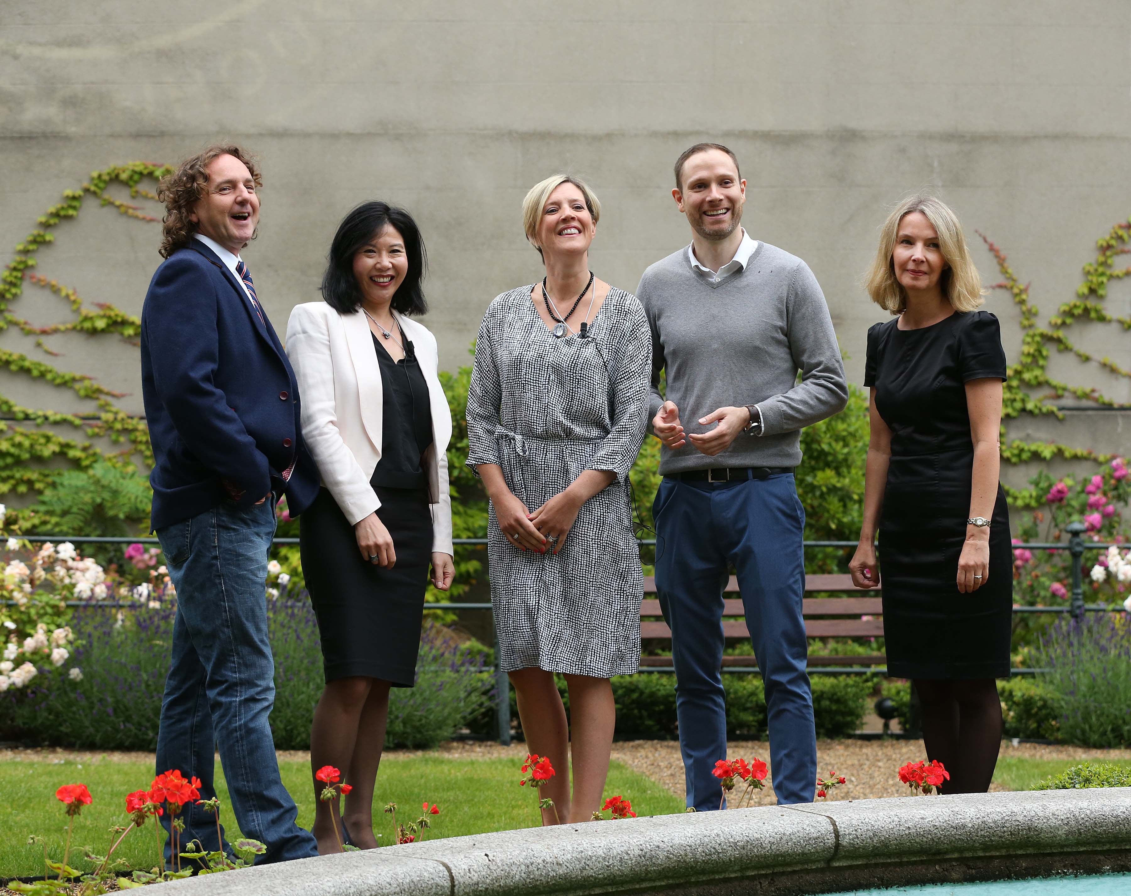 Paul Henderson, Michelle Lee, Sharon Walsh, Michael Clancy and Gervaise Slowey