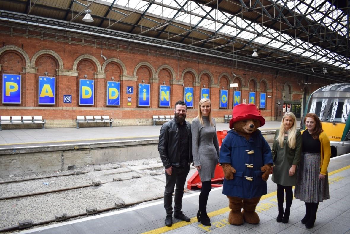 Paddington 2 Takes Over Connolly Station - AdWorld ie