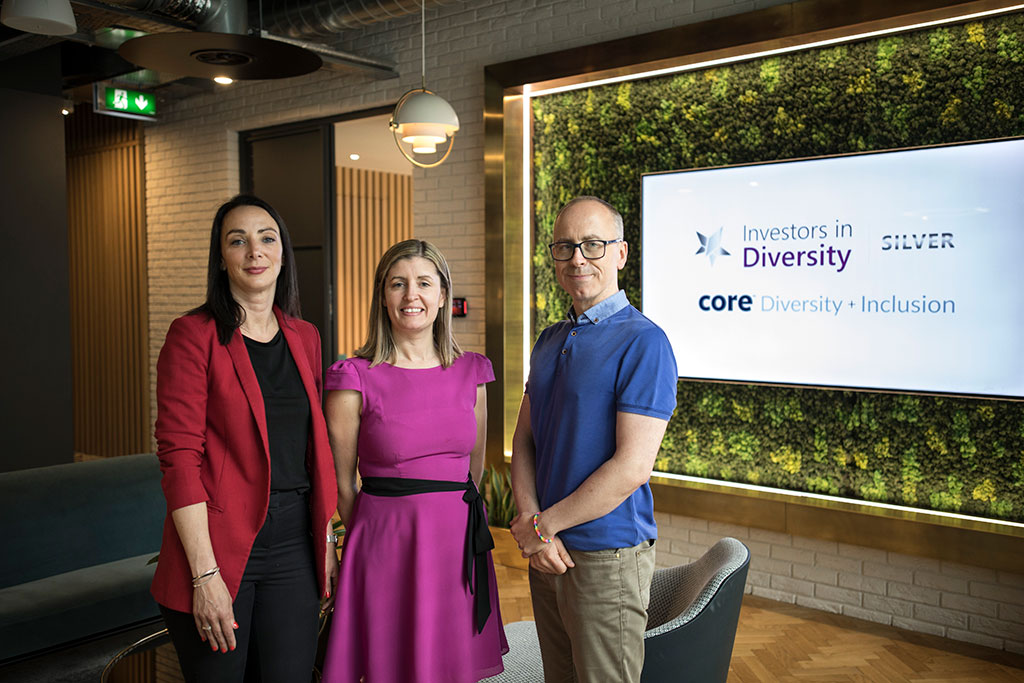 Core Wins Silver 'Investors in Diversity' Award from ICD