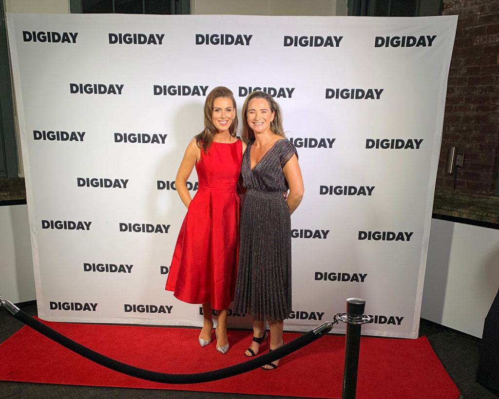 IMAGE Media Flies Irish Flag at Digiday Publishing Awards in New York