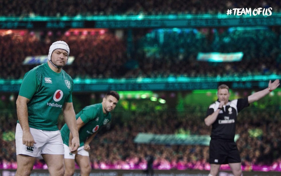Vodafone Ireland Renews Sponsorship of Irish Rugby For Four Years