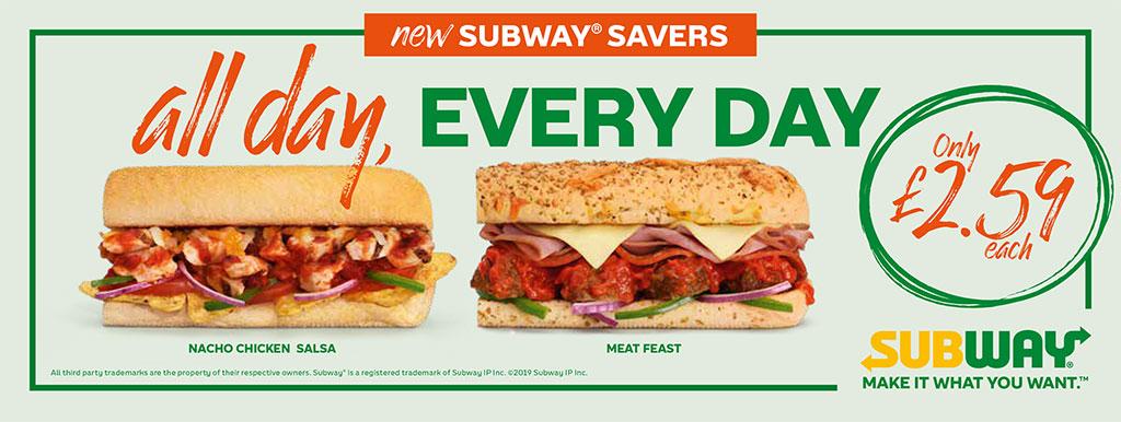 Subway | Savers Campaign