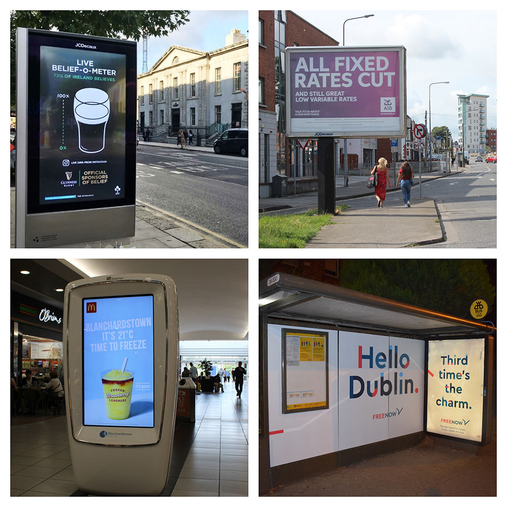 Digital Continues to Drive Growth in Irish OOH Market Says PML