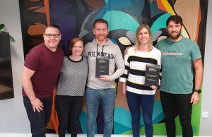Wolfgang Picks Up Two Awards Irish Content Marketing Awards