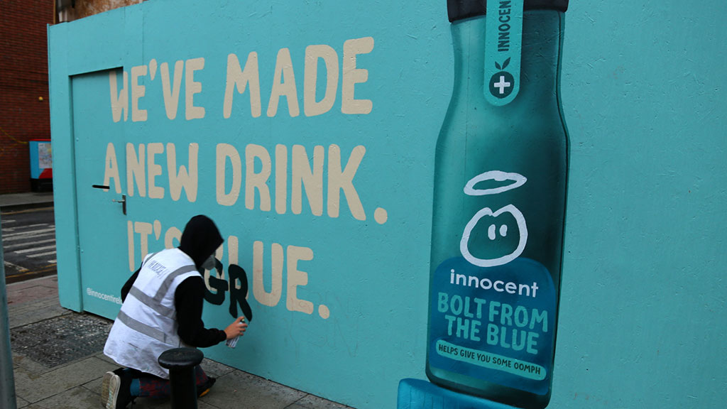 Kinetic and innocent bring a splash of colour to the streets of Dublin