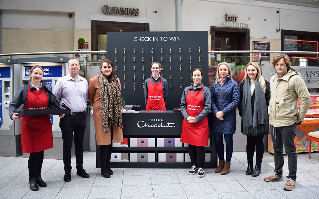 Commuters Check into Hotel Chocolat with Experiential OOH Campaign