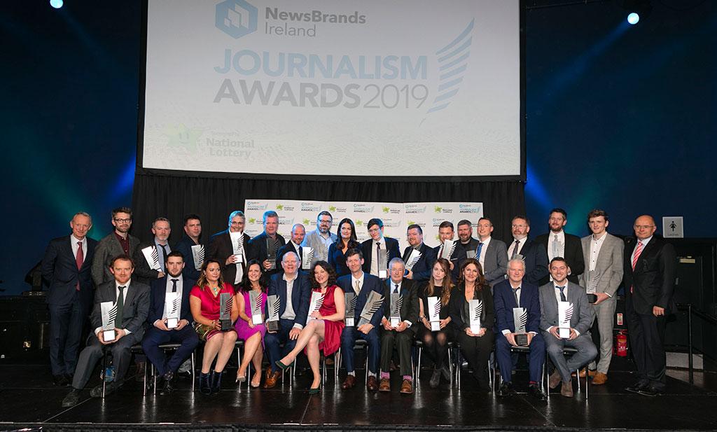 NewsBrands Awards Showcase the Best in Irish Journalism