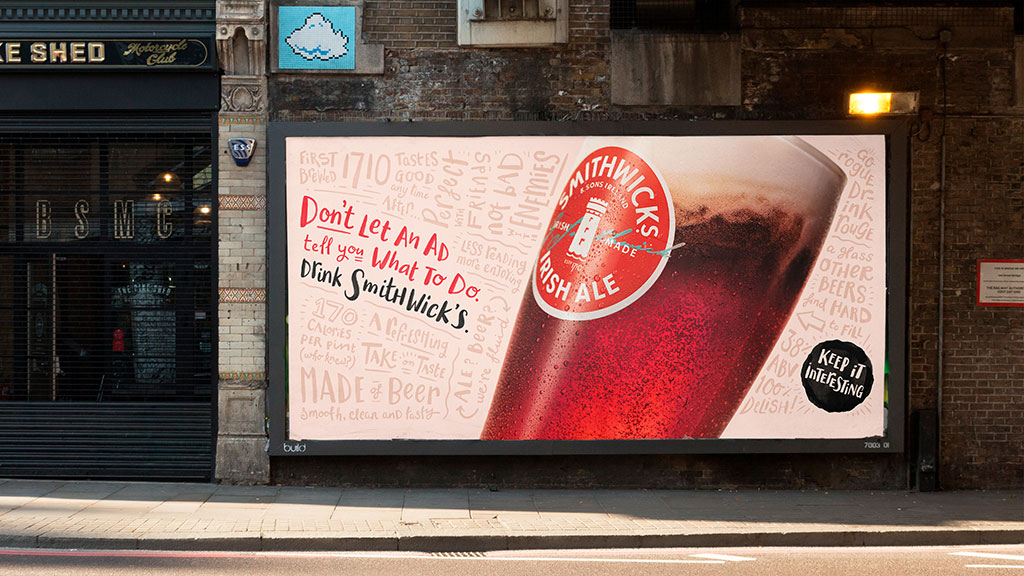 Boys + Girls Keep it Interesting in New Campaign for Smithwick's