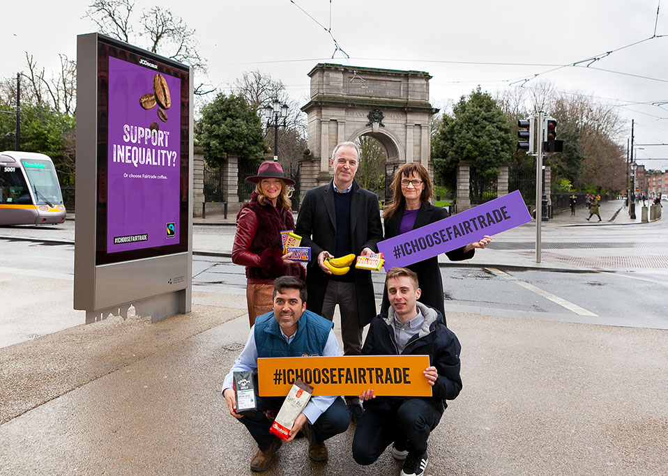 Cannes Young Lions Winners See their Fairtrade Work on OOH