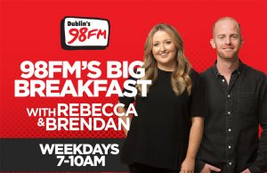 Shekelton and O'Loughlin Take Over 98FM's Big Breakfast Show