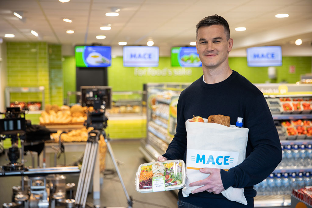MACE Invests €1m in New Johnny Sexton Campaign